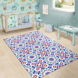 Luxury Traditional Colorful Ornaments Design One Area Rug