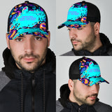 Sometimes, happy memories hurt the most. Mesh Back Cap Paisley Design