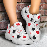 Poker Night Chunky Sneakers