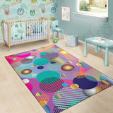 Pop Art Dots Area Rug