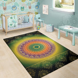 Colorful Mandala Area Rug