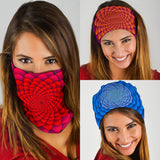 Psychedelic Art Style Collection Bandana 3-Pack