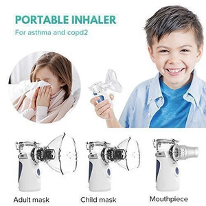 (ONLY DAY 50% OFF)Mesh Miracle Portable Nebulizer(FREE SHIPPING)