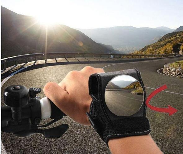 BUY 2 FREE SHIPPING - Bicycle Wrist Rearview Mirror