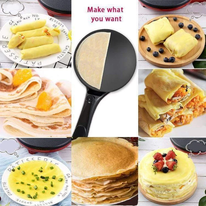 🎁Pre-Black Friday Sale-Electric Pancake/Pizza/Crepe Maker