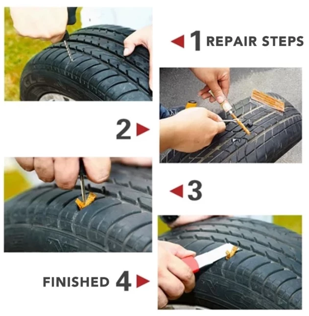 (HOT🔥Buy Two Free Shipping)Upgrade - Tire Puncture Repair Tool[Today Only]