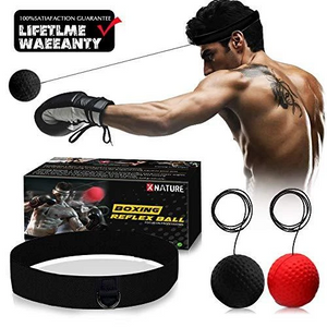 (🔥 HOT SALE 🔥)Head-mounted Boxing Response Training Ball