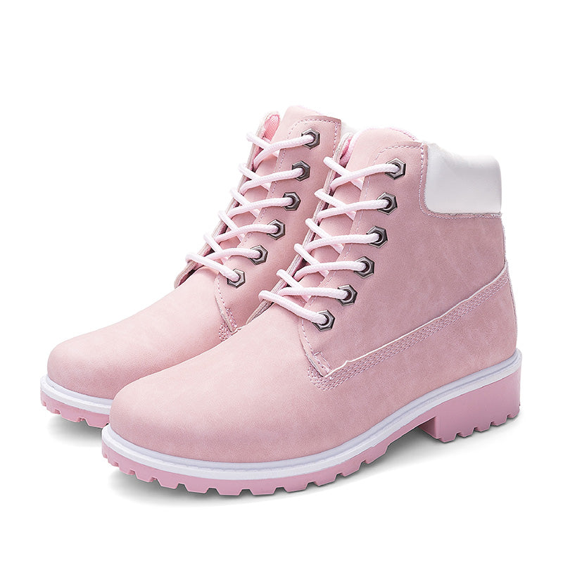 2019 hot new autumn and winter shoes fashion warm women's boots