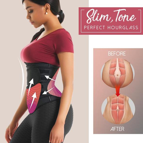 SweatFIT™ Adjustable Waist Slimming Trimmer(BUY TWO FREE SHIPPING)