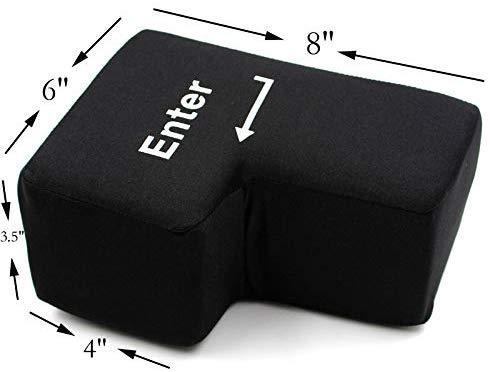 USB Big Enter Key Relieve Stress Plush Toy