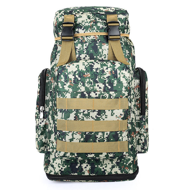 60L large capacity male tactical backpack