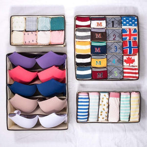 Hot selling 50,00 items——Foldable Closet Underwear Organizer