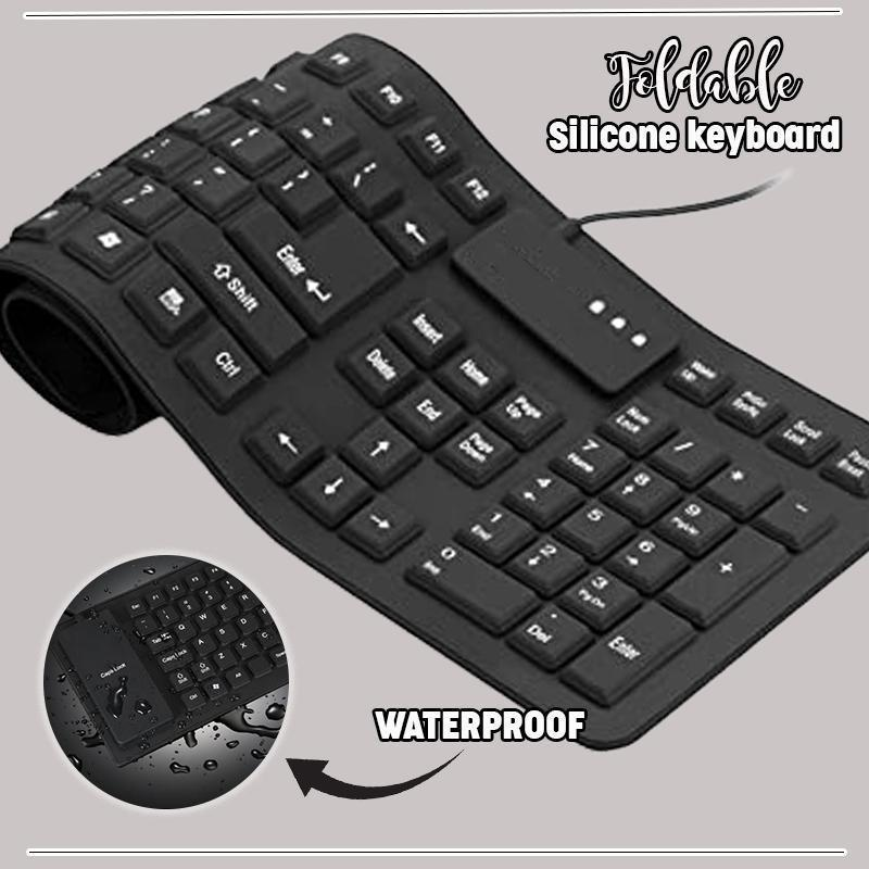 Foldable Silicone Keyboard