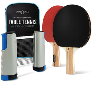 (🔥 HOT SALE 🔥)Portable Table Tennis Set with Retractable Net
