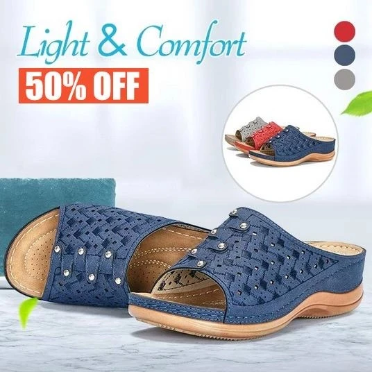 LAST DAY SALE-Dr. Care - Premium Orthopedic Toe Sandals-Free Shipping