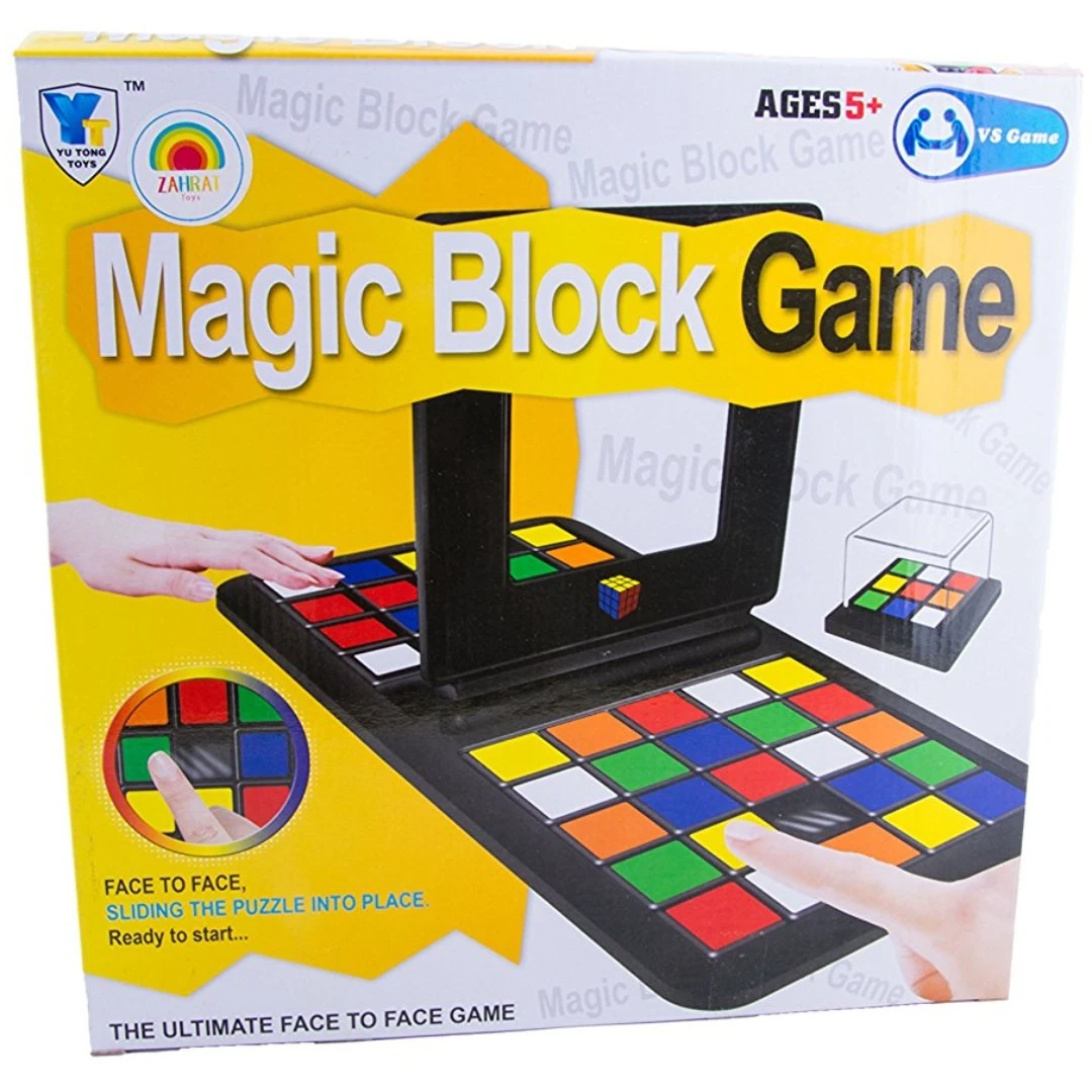 Magic Block Game(Parent-child interaction)