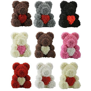 Rose Bear with Love (Various Colors)