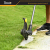Trimmers, 28V TECCPO 2.0Ah Cordless Trimmer, Cutting Diameter 280mm-330mm, Automatic Line, 90 ° Head Rotation, Joystick can be extended and retracted - TDLT01G