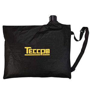 TECCPO Leaf Collection Bag, 10.6gal Large Capacity Bag for Leaf Blower/Vacuum/Mulcher - TACB01G