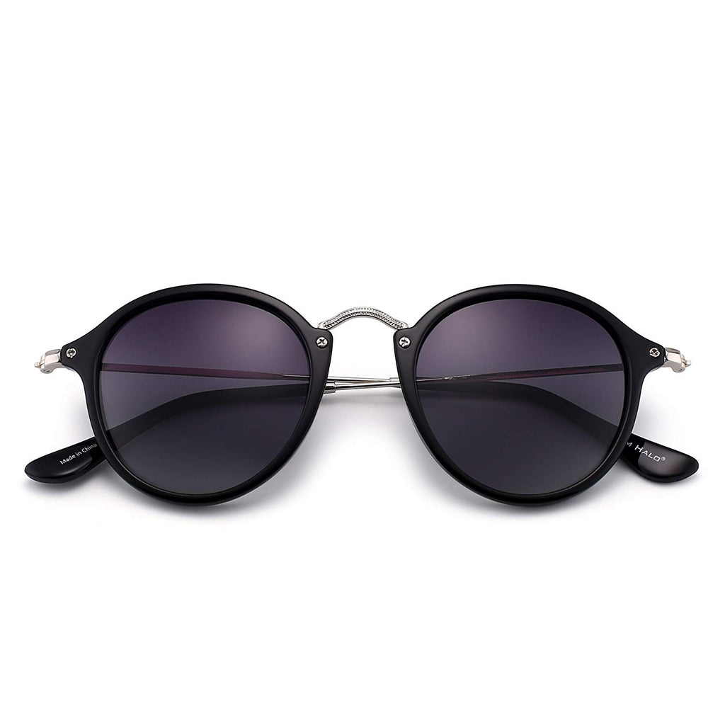 New Womens Vintage Large Round Sunglasses 9577 4 color options