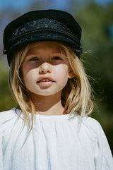 Riviera Cap - Black - Kids