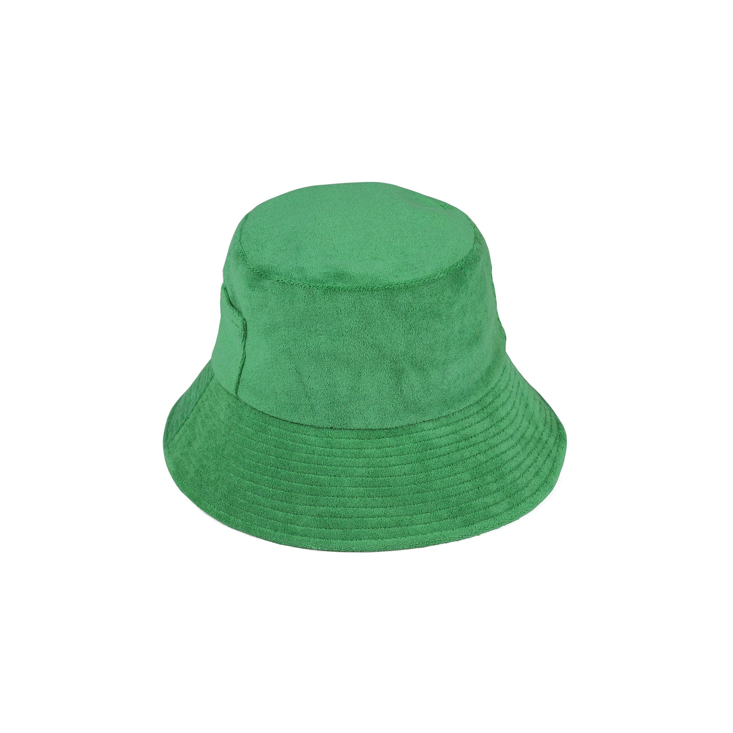 Wave Bucket Green Terry Lack Of Color