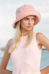 Wave Bucket - Pink Terry