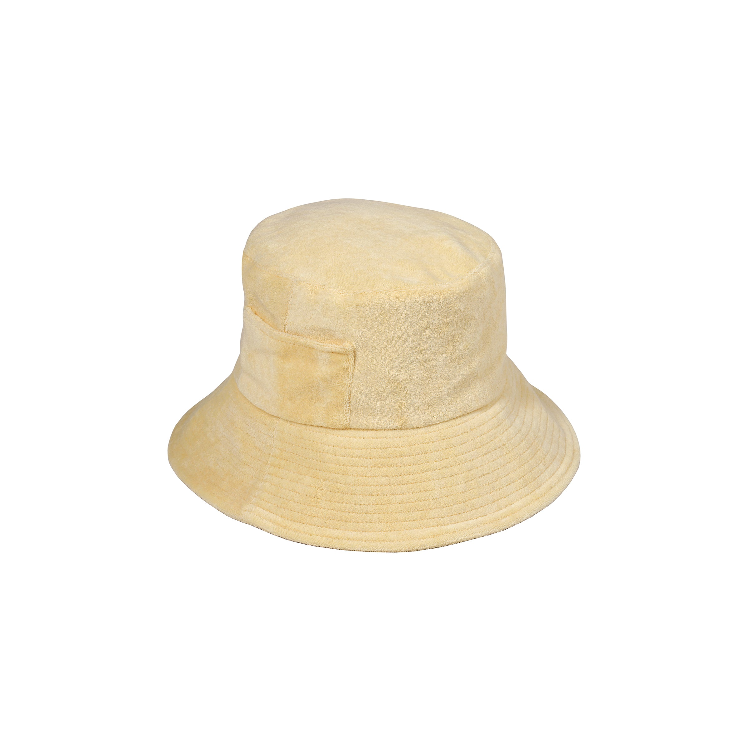 Wave Bucket - Yellow Terry
