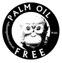 Palm Oil Free Certified logo.
