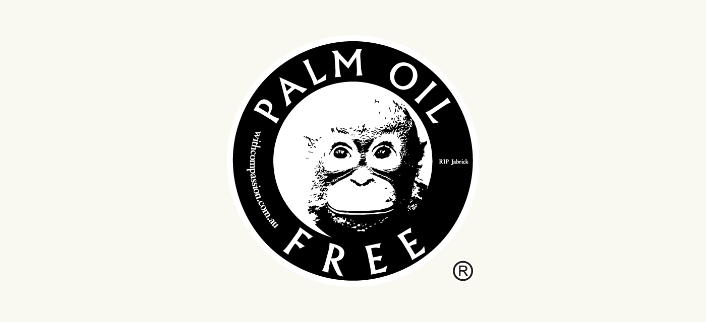 Palm Oil Free Certification Trademark Logo