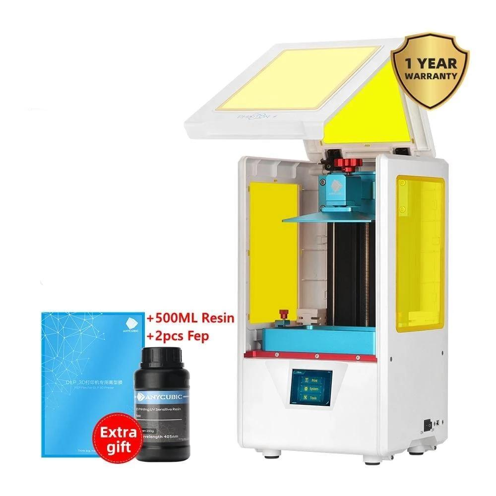 ANYCUBIC Photon-S 3D Printer Dual Z axis Quick Slice 405nm Matrix UV Module SLA Resin Impresora 3D - Trendystreetwear