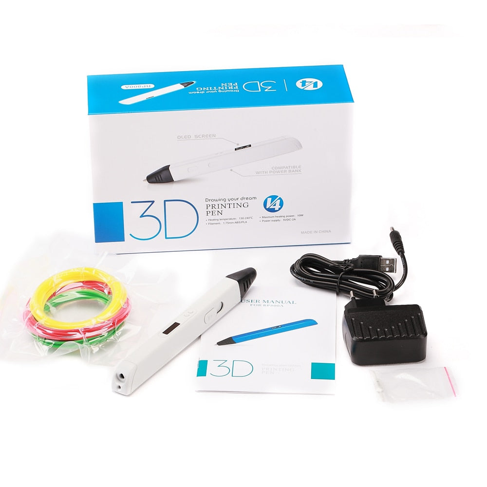 3D Professional Printing Pen with OLED Display - Trendystreetwear