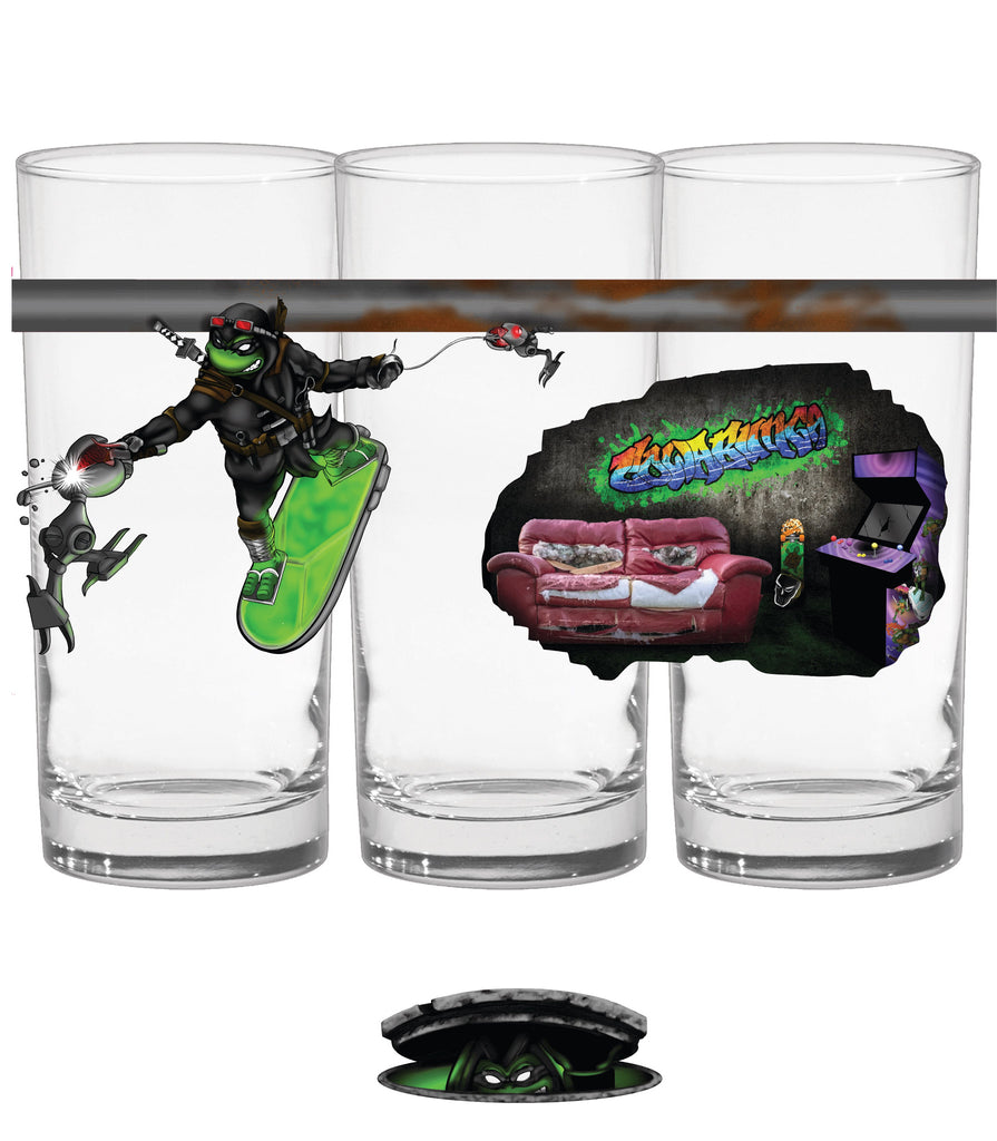 Heroes in a Hop Shell V3 (2 Glass Set)
