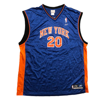 Reebok NBA Allan Houston New York Knicks Jersey XXL