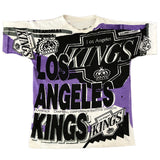 Vintage Magic Johnson 1992 Los Angeles Kings Tee Large