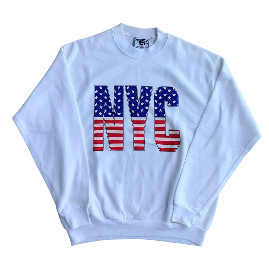Vintage New York NYC Crewneck Sweater L