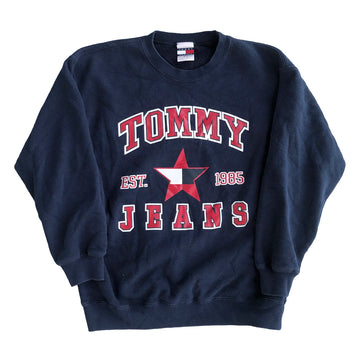 Vintage Womens Tommy Jeans Crewneck Sweater S
