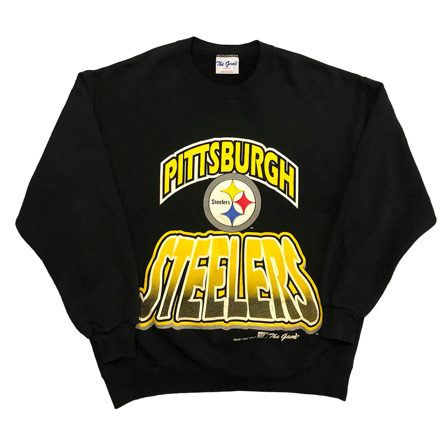 Vintage 1995 NFL Pittsburgh Steelers Crewneck Sweater XL