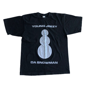 Vintage Early 00s Young Jeezy Da Snowman Tee XL