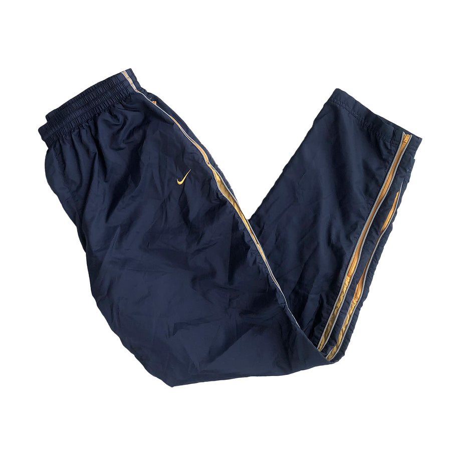 Nike Zip Up Trackpants L