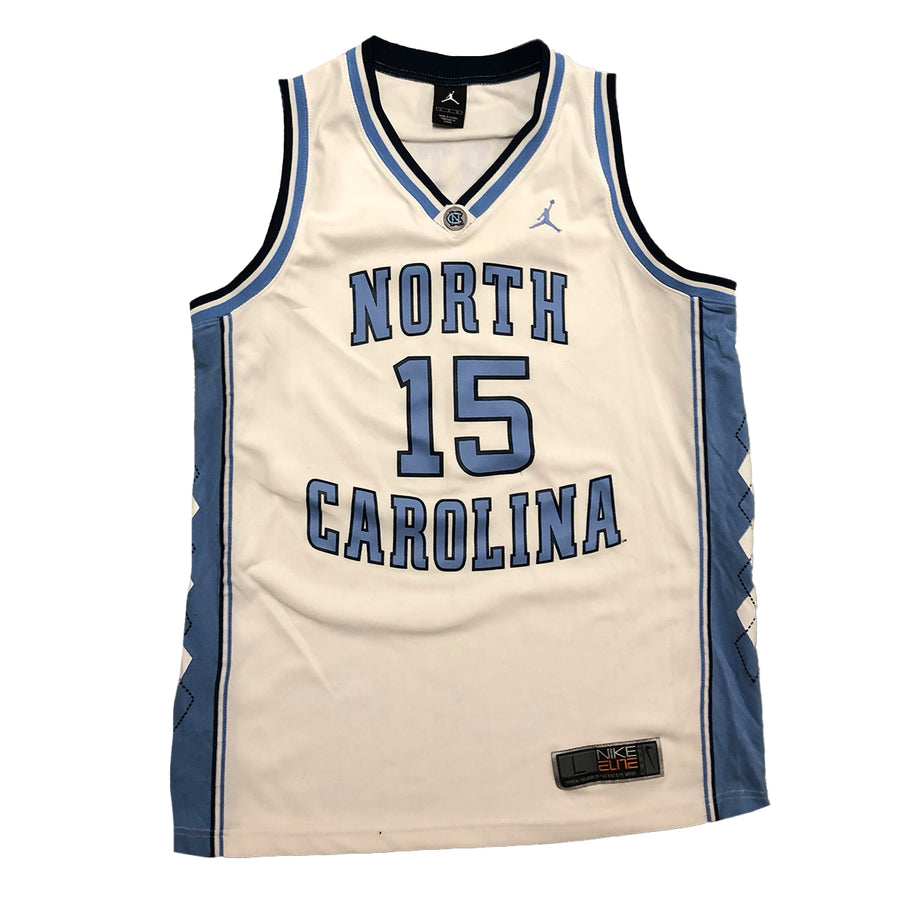 Vince Carter UNC Air Jordan North Carolina Tar Heels Vintage Basketball #15 Jersey L