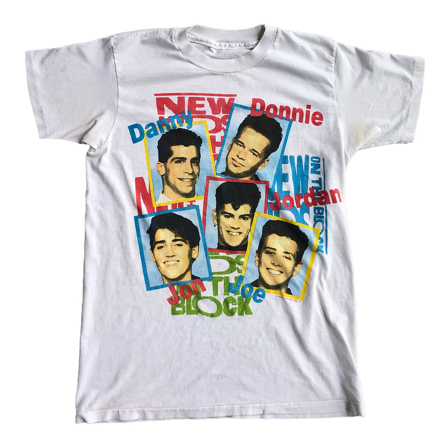 Vintage 1989 New Kids On The Block Tee S
