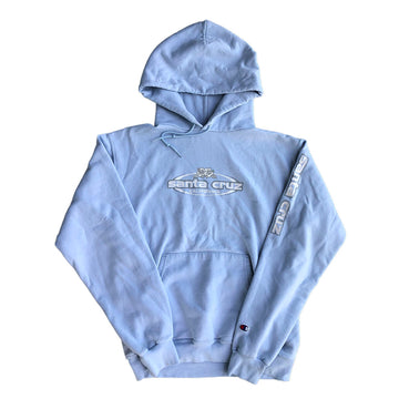 Womens Champion Santa Cruz California Pullover Hoodie M/L