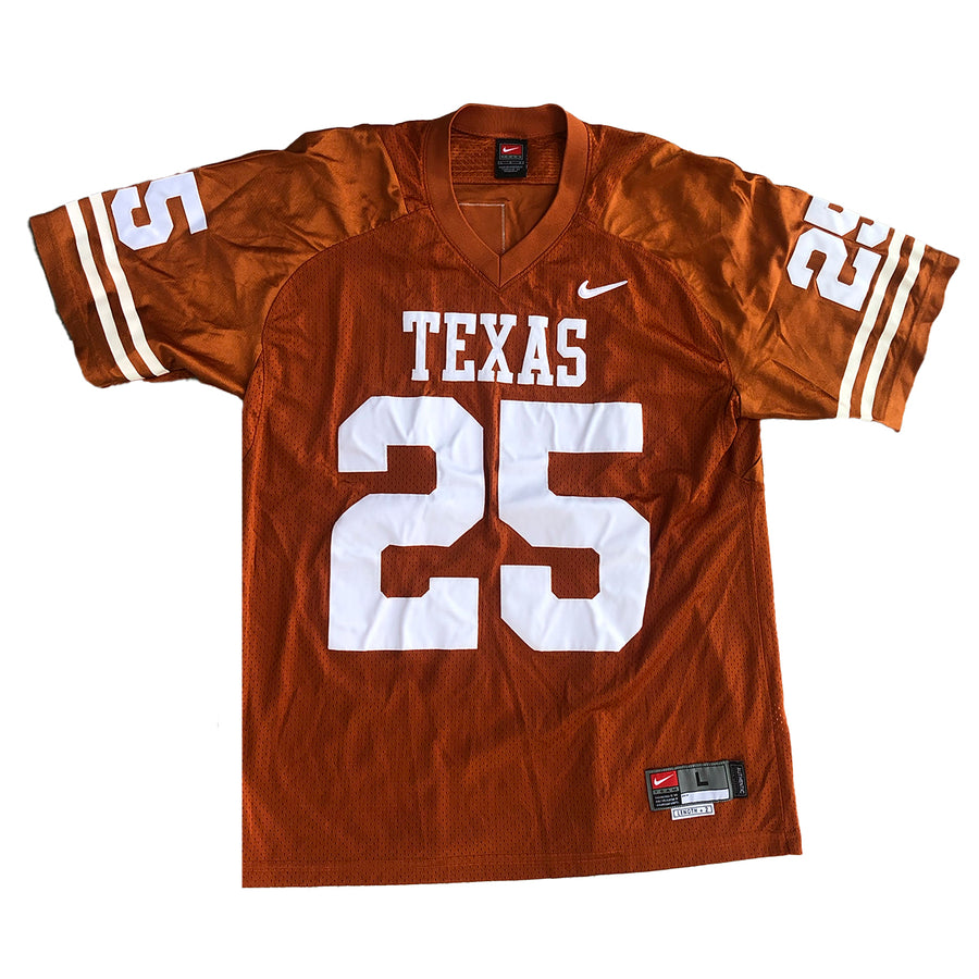 Nike NCAA Football Texas Longhorns #25 Jersey L
