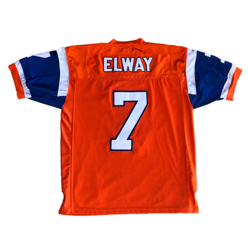 NFL Mitchell & Ness John Elway Denver Broncos Throwback Jersey XXL