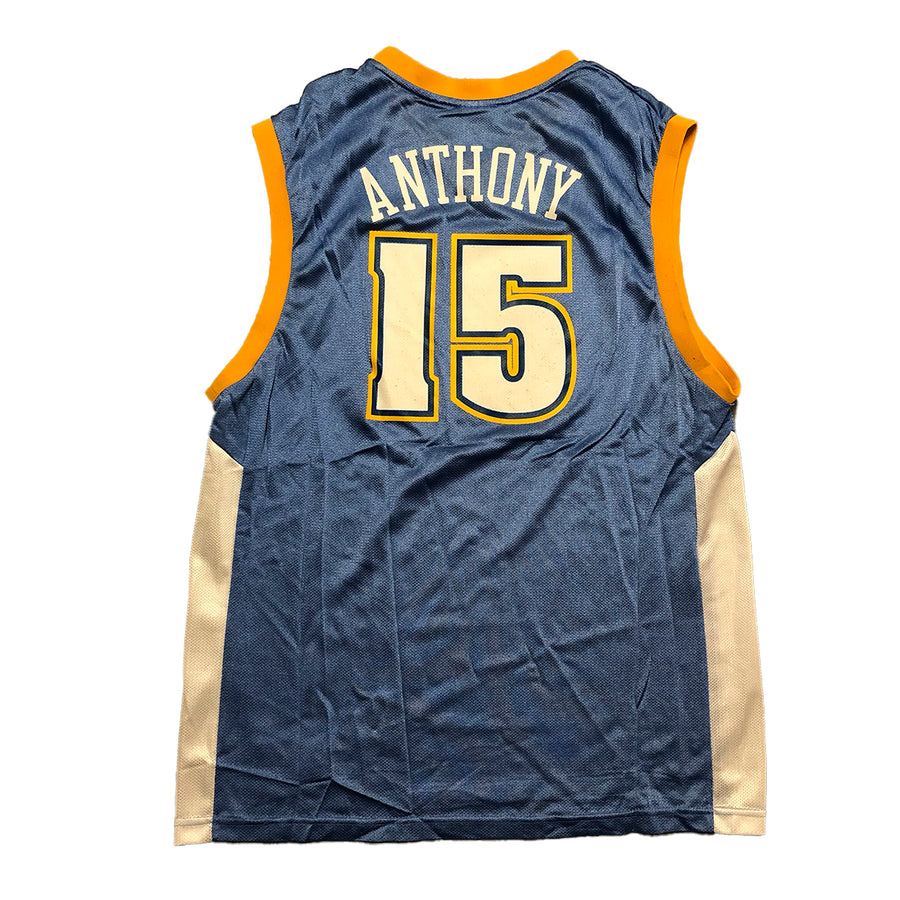 Reebok NBA Carmelo Anthony Denver Nuggets #15 Jersey L