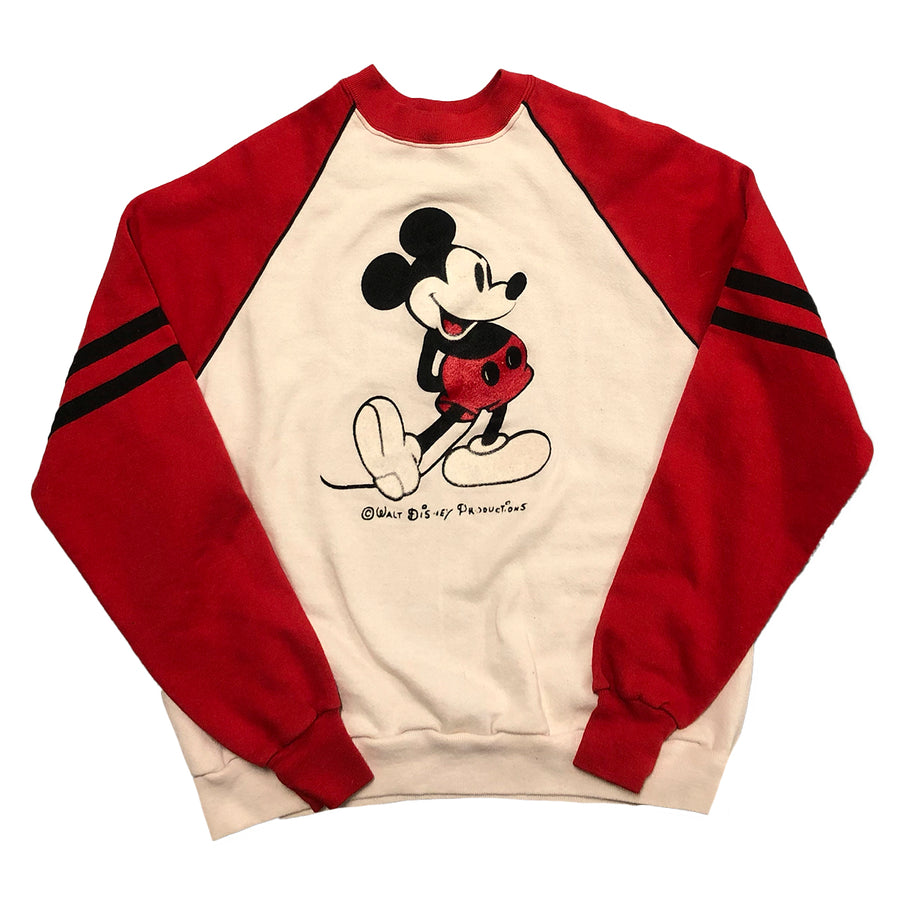 Vintage 80s Walt Disney Mickey Mouse Crewneck Sweater S/M