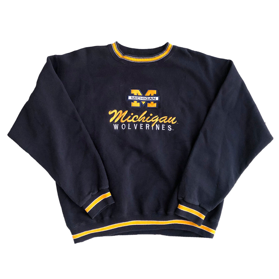Vintage Michigan Wolverines Crewneck Sweater L/XL