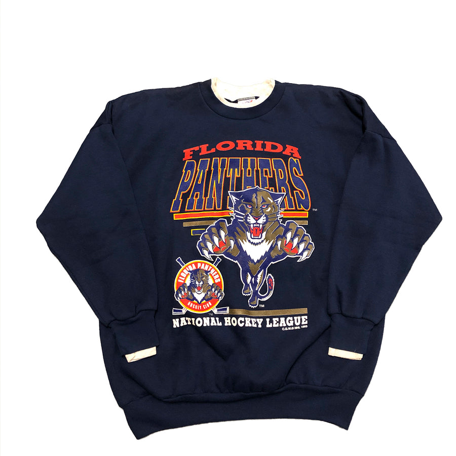 Vintage NHL Florida Panthers Crewneck Sweater L