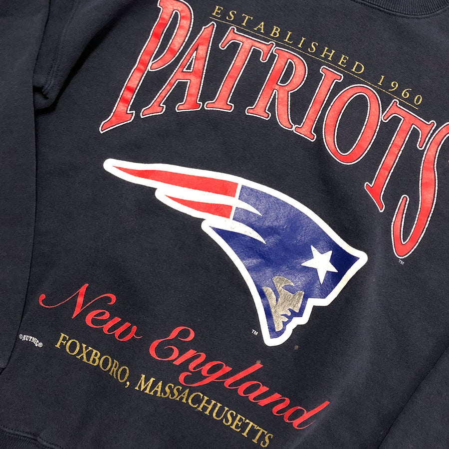 Vintage NFL New England Patriots Crewneck Sweater XL